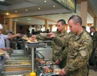 Принят закон о питании военнослужащих Украины