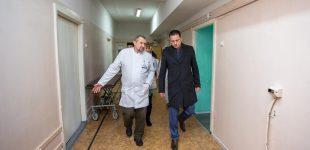 Капітальний ремонт відділень лікарень в місті триває