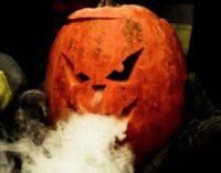 Днепровские спасатели тематически напомнили о безопасности на Хэллоуин, – ФОТО