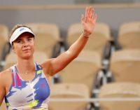 Теніс: Еліна Світоліна вийшла до чвертьфіналу Roland Garros