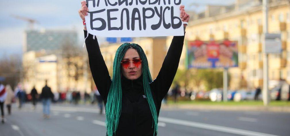 Стрельба и взрывы: как прошёл воскресный марш в Беларуси