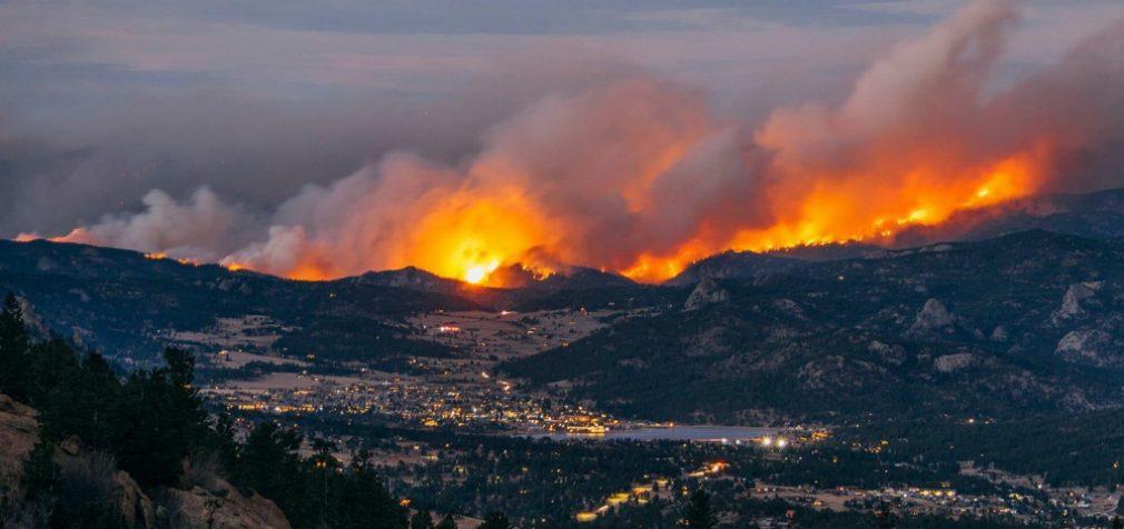В Колорадо бушуют самые большие пожары за всю историю