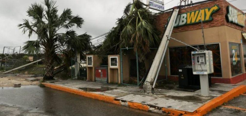 Мексику и США накрыл разрушительный ураган «Дельта»