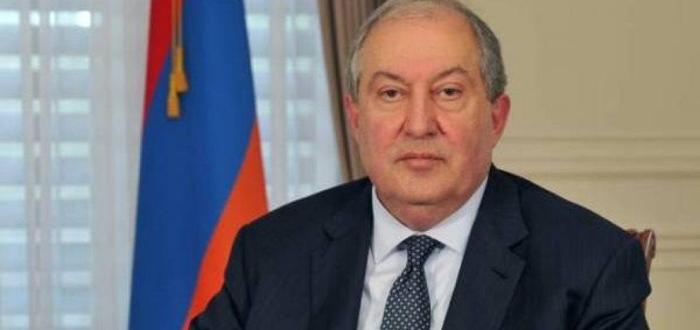 Президент Армении Армен Саркисян прибыл в Москву