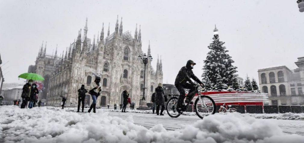 В Европе не утихают снегопады, в Украине – туман и гололёд
