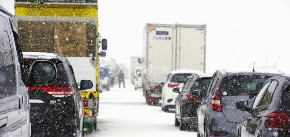 Япония и США страдают от снегопада и шторма, есть погибшие