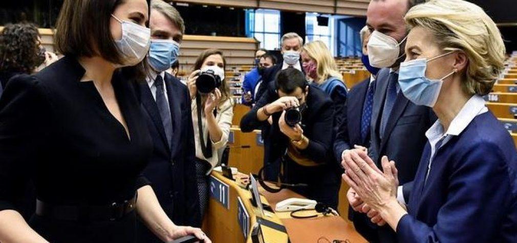 Белорусской оппозиции вручили премию Сахарова