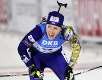 Жіноча збірна України здобуває бронзу в класичній естафеті на чемпіонаті світу з біатлону
