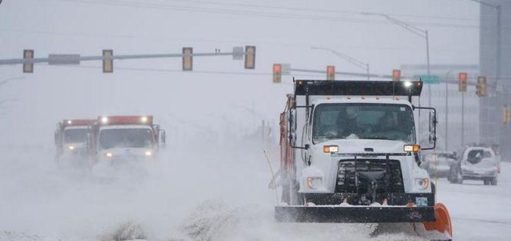 На США надвигается зимний циклон с рекордными снегопадами