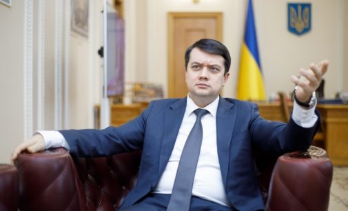 Разумков – о скандале с Колесник и расколе во фракции «Голос»