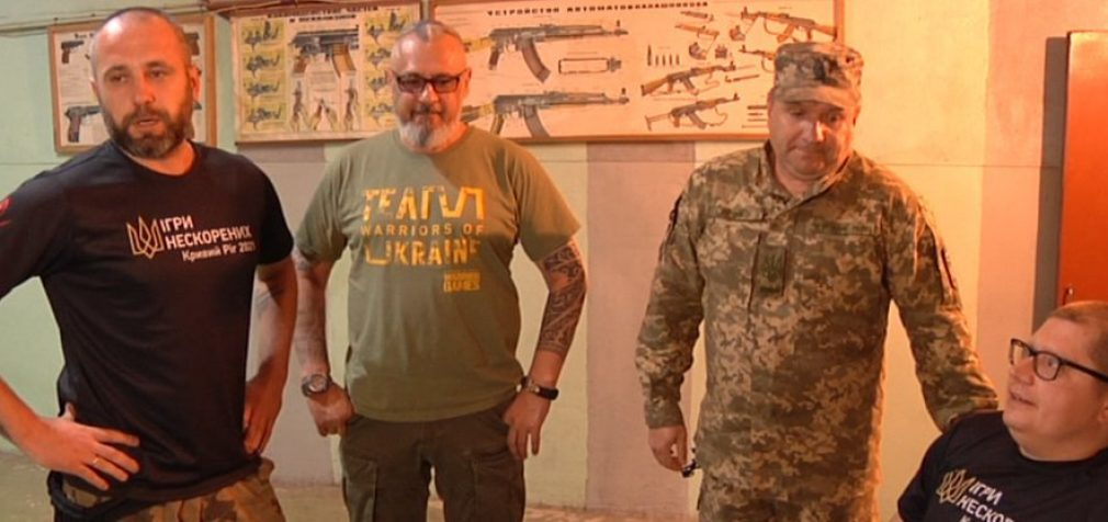 Участники боевых действий с Днепропетровщины поедут в США на спортивные соревнования