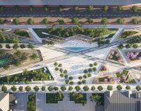 Фонтаны, беседки и зеленые зоны: как будет выглядеть Успенская площадь в Днепре