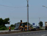 На ревизию отремонтированной дороги Днепр-Кривой Рог приехали из департамента