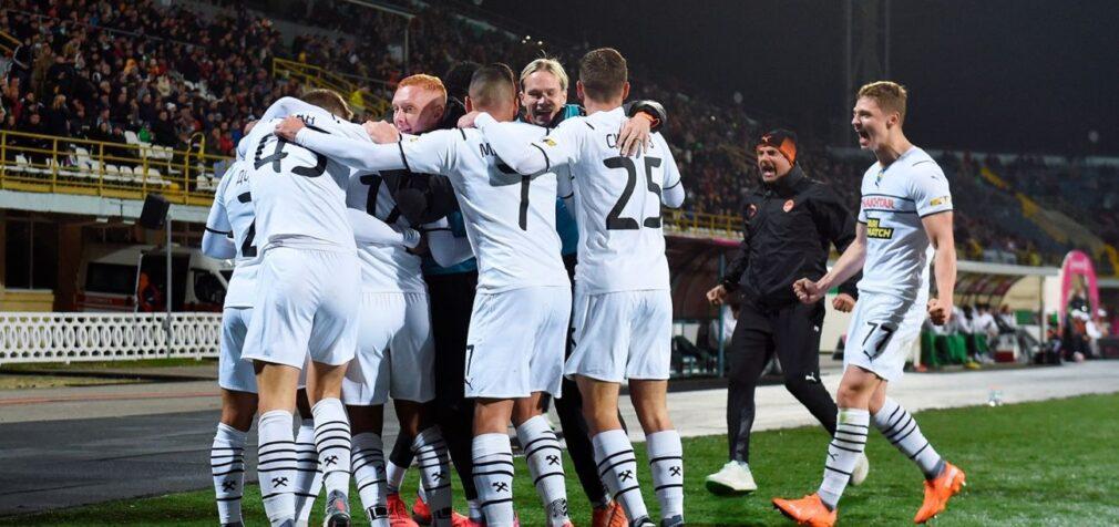 «Шахтар» без проблем пройшов «Чорноморець» на шляху до чвертьфіналу Кубка України