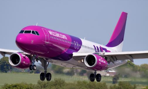 Wizz Air открывает три новых рейса из Украины до конца года