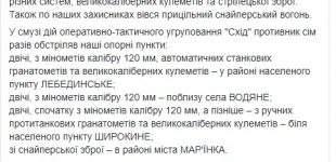 В ходе боевых действий один украинский воин получил смертельное ранение. За сутки зафиксировано 13 вражеских обстрелов, — штаб ОС