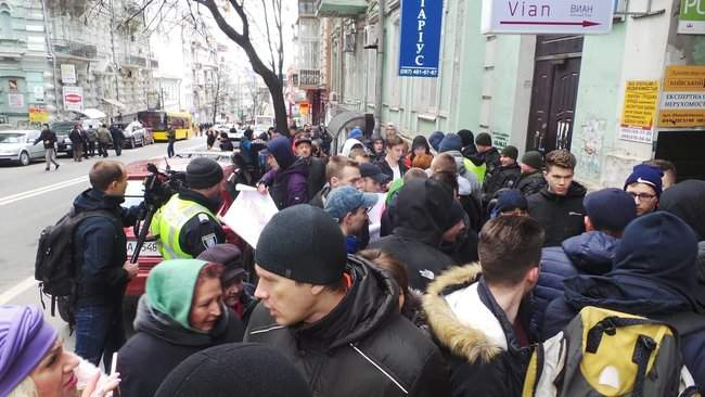 Порошенко провел народную встречу в центре Киева (обновлено) 02