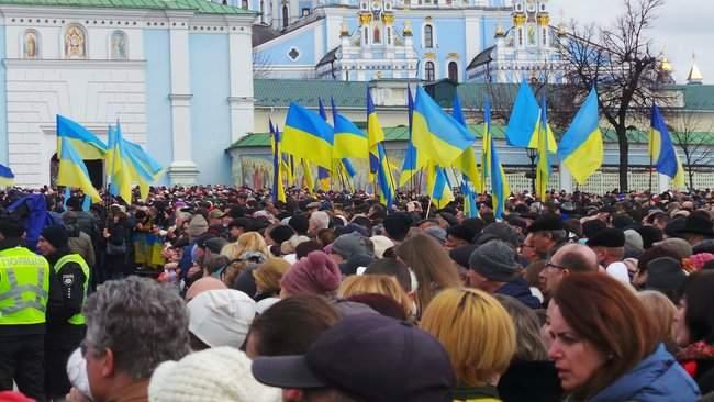 Порошенко провел народную встречу в центре Киева (обновлено) 05