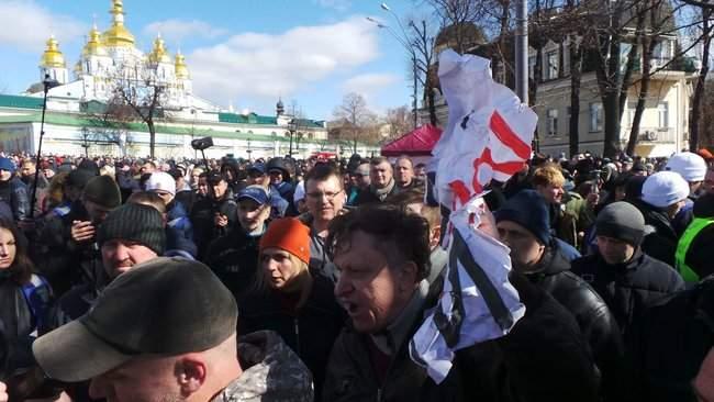 Порошенко провел народную встречу в центре Киева (обновлено) 10
