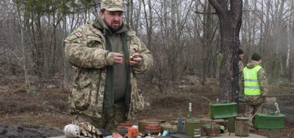 Учебные сборы с бойцами территориальной обороны прошли на Харьковщине. ФОТОрепортаж