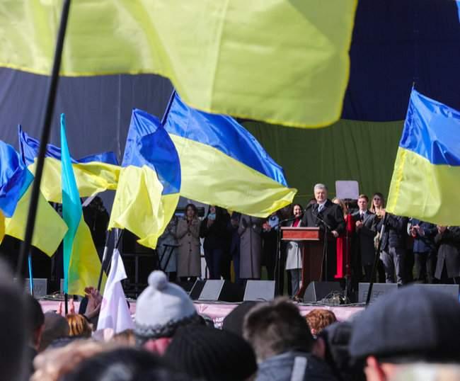 Порошенко провел народную встречу в центре Киева (обновлено) 06