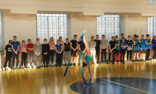 Зимові молодіжні ігри у Кам'янському